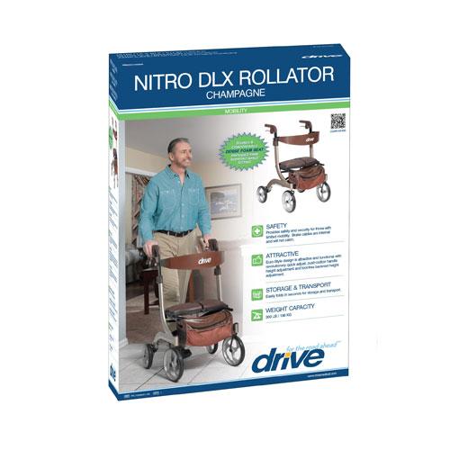 Nitro Dlx Rollator Glenerinpharmacy