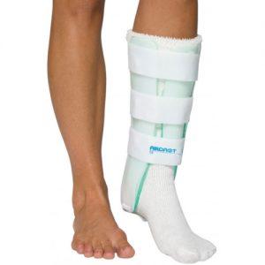 Leg Brace with Anterior Panel