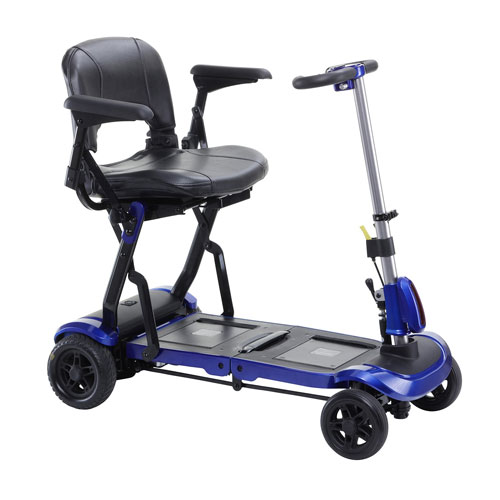 Zoome Flex Folding Travel Scooter Glenerinpharmacy