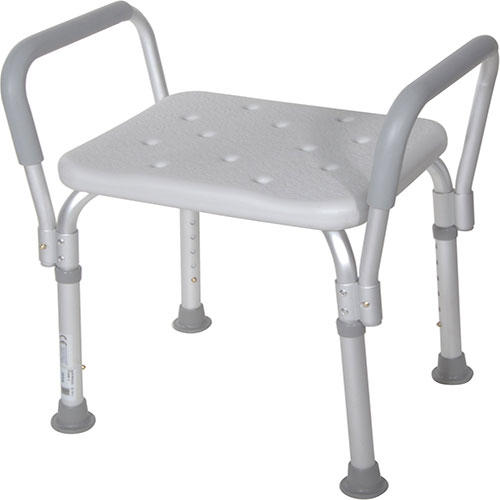 Buy Bath Bench with Removable Padded Arms